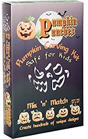 pumpkin carving tools for kids. pumpkin punches carving kit - tool safe for children family favorite tools kids s
