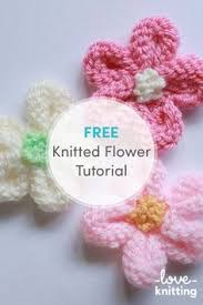 Knitted Flower Pattern Inspiration Ravelry Simple Knitted Flower Pattern By Paulette Lane Pretty And