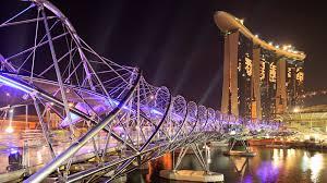 lighting pictures. Lighting Design Marina Bay Bridge Waterfront At ; Pictures