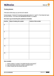 9 finding factors worksheet | ars-eloquentiae