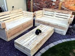 garden furniture from wooden pallets. recycled pallet garden seating set furniture from wooden pallets 5