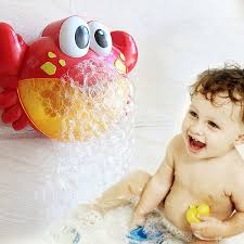 <b>Crab Music Bubble</b>-blowing Bathing Machine for Kids | Gearbest