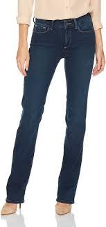Nydj Womens Marilyn Straight Leg Jeans In Future Fit Denim Rome 4