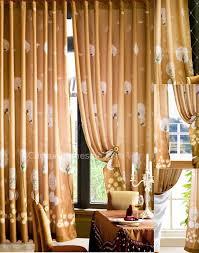 Orange Bedroom Curtains Dark Orange Curtains