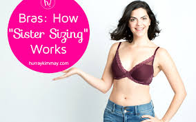 Bras What Is Sister Sizing Bra Sizing Explained By Kimmay