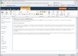 Edit Wiki Edit A Wiki Page In Sharepoint 2010 Dummies