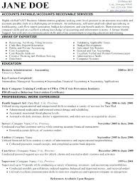 Accounts Payable Receivable Resume Sample Best of Accounts Receivable Resume Samples Hflser
