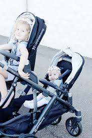 UppaBaby Vista Double Stroller Review + Knit Headband Tutorial - see ...