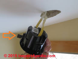 installing an old work electrical box in an existing ceiling c daniel friedman