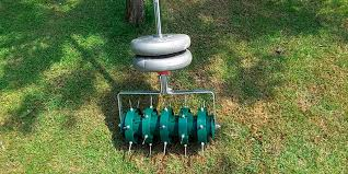 garden aerator. Review Of Greenkey Garden And Home Rolling Lawn Aerator