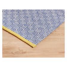 lucas medium blue flatweave rug 140 x 200cm zoom lens photo previous next