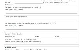 Accident Investigation Report Form Template Uk Investigation