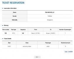 Ktx Seating Chart How To Book Korail Kr Pass Seats Koreal Trip Blog