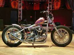 1981 sportster bobber with 79ci harley ironhead stroker engine and