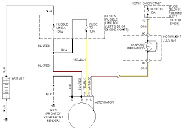 infinity charging system new alternator car quits charging system circuit that need to be checked first i have included the wiring diagram below for you so you can check them