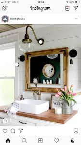 Vintage Bathroom Lights Over Mirror Pin By Shauna Davis On Decorating In 2019 Bathroom Modern