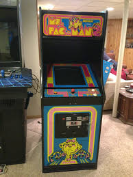 Ms Pacman Cabinet Ms Pacman Restoration