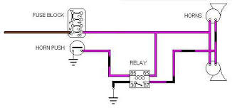 wiring diagram for a horn relay the wiring diagram horn relay wiring mgb gt forum mg experience forums the mg