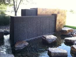 Fountain Water Feature Design Covered Outdoor Patio Water Feature Attractive Fountains