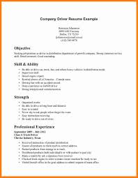 Cv For Driver Job 8 Curriculum Vitae For Driver Theorynpractice