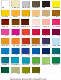 Vauxhall Colour Chart My Flocking Pictures