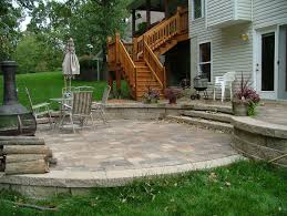 how to build a curved block wall building stone patio outdoor deck house