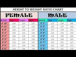 Height Weight Ratio Chart Videos Matching Male Height 26amp Weight Chart This Is