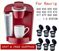 That makes a coffee maker an obligatory asset in the house. 3pc For Keurig Coffee Makers Reusable Refillable Single K Cups Filter Pod System Parts Accessories Home Garden