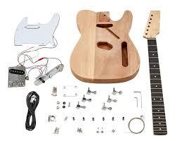 harley benton electric guitar kit t style