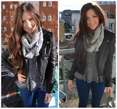 black leather jacket outfits for women