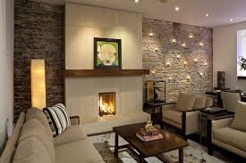 cozy modern living room with fireplace. Contemporary Living Room By Charlie \u0026 Co. Cozy Modern With Fireplace