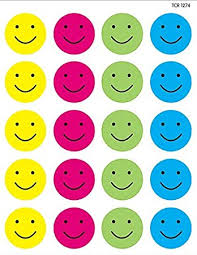 Teacher Created Resources Happy Faces Stickers Multi Color 1274