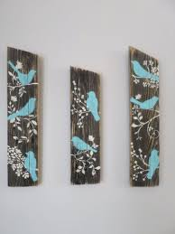 3 reclaimed upcycled country custom order blue birds rustic shabby chic wall decor sign wood on country chic wall art with 3 reclaimed upcycled country custom order blue birds rustic shabby