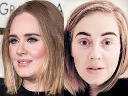 adele normally keeps her makeup simple jason merritt getty images and insram adele