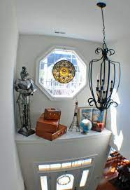 ledge decor foyer decorating