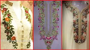 Latest Embroidery Designs Latest Trendy Hand Embroidered Neck Designs Hand Embroidery Ideas