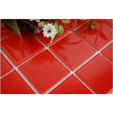 bathroom glass floor tiles. Vitreous Mosaic Tile Crystal Glass Backsplash Of Kitchen Design Bathroom Red Floor Tiles A
