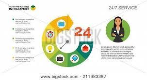 Pie Chart Clock Vector Photo Free Trial Bigstock