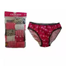 Joe Boxer Size Chart Joe Boxer Womens Hipster Panties Tie Dye Striped Bikini Set Of 10