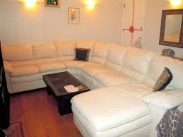 cream colored leather sectional exceptional misterflyinghips com home ideas 0