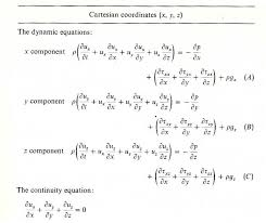solution heat equation cylindrical coordinates navier stokes derivation of continuity equation in cylindrical coordinates