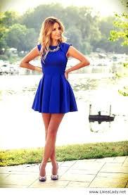 blue dresses 21
