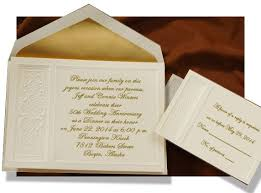 50th Wedding Anniversary Invitation Cards Samples Wedding In 2018