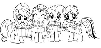 Free My Little Pony Coloring Pages Of Power Ponies Print Printable