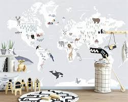 Beste Kopen Beibehang Grote 3d Behang Mural Giraffe World Animal