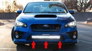 2015 Sti Rally Lights Light Bar Subaru Install
