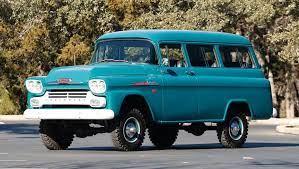 1958 Chevrolet Apache 3100 Series Suburban Chevrolet Suburban Chevrolet Vintage Trucks