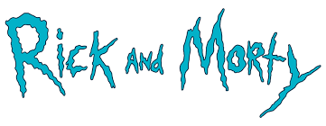 Image - Rick and Morty logo.png | Crossover Wiki | FANDOM powered by ...