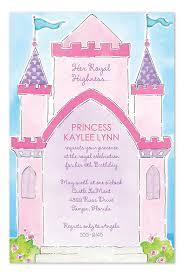 Pretty Princess Party Birthday Invitations By Invitation