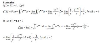 Laplace Transform Definition Properties Formula Equation
